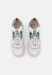 Bronx - BAISLEY - Trainers - off white/pink/teal - 5