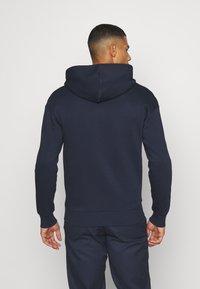 Jack & Jones - JORPRESTON ZIP HOOD - Bluza rozpinana - navy blazer - 2