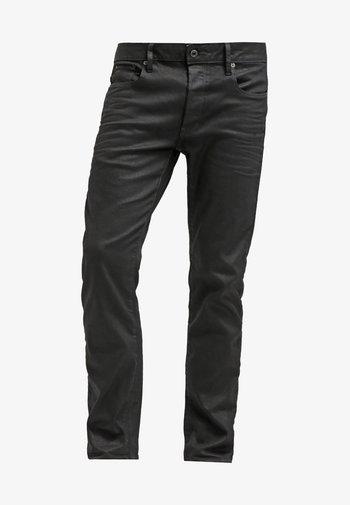 3301 STRAIGHT - Džíny Straight Fit - black pintt stretch denim