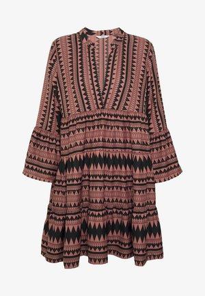 ONLNAYA ATHENA DRESS - Sukienka letnia - black/burlwood