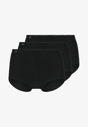 24/7 3 PACK - Culotte - black