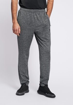 LASTON TAPERED - Tracksuit bottoms - dark grey melange