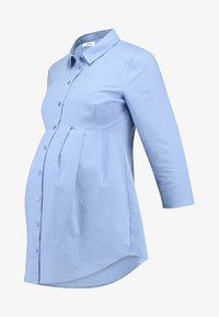 Zalando Essentials Maternity - Button-down blouse - light blue - 4