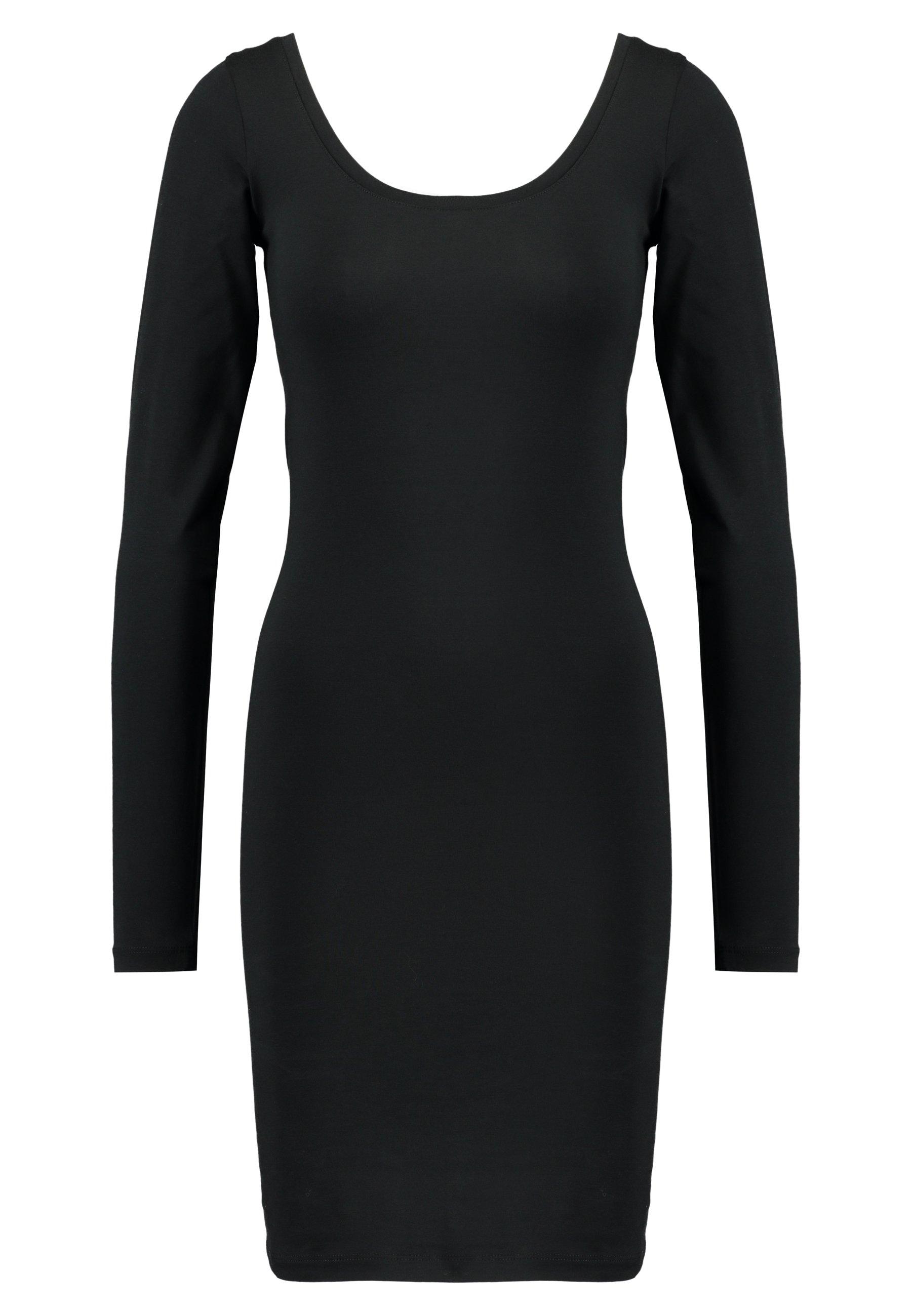 Women SIK LONG SOLID - Shift dress
