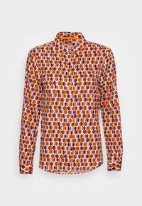 Emily van den Bergh - BLOUSE - Button-down blouse - orange lilac brown - 3