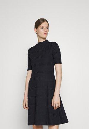 NIMANA - Jumper dress - open blue