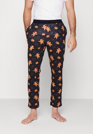 JACMERRY PANTS - Pyjamahousut/-shortsit - black