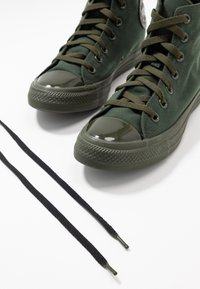 Converse - CHUCK TAYLOR ALL STAR OPI - High-top trainers - thyme/black - 7