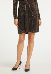 usha - A-line skirt - schwarz nude - 1