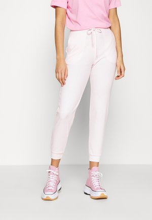 ANDREA HIGH WAIST JOGGERS - Tracksuit bottoms - primrose pink