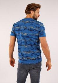 Gabbiano - Print T-shirt - cobalt - 2