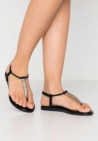 Anna Field - T-bar sandals - black - 0