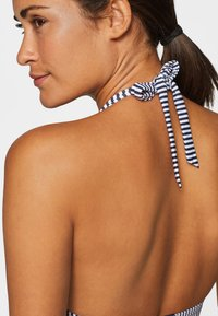 Esprit - Bikini top - dark blue/white - 3
