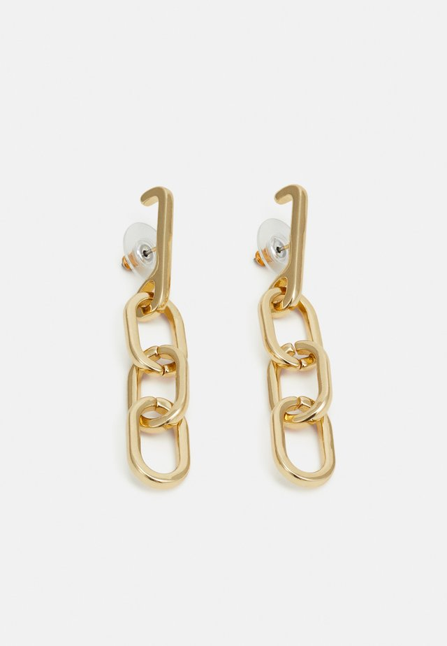 EARRINGS HALLE - Ohrringe - gold-coloured