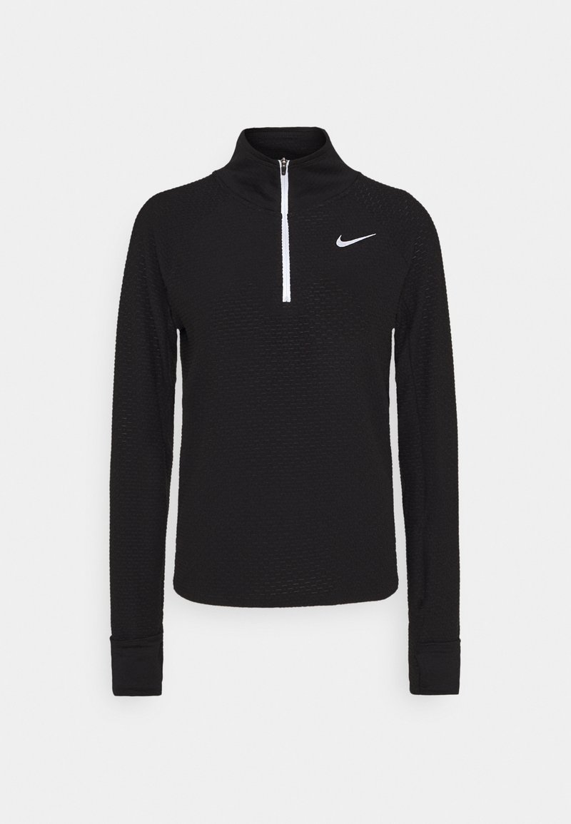 Nike Performance - SPHERE - Sweatshirt - black/reflective silver