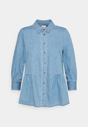 ONLMARY CANBERRA AUTHENTIC - Button-down blouse - medium blue denim