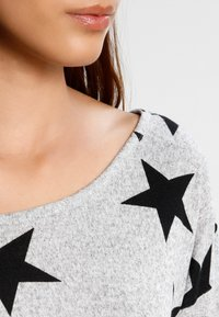 ONLY - ONLELCOS - Jumper - light grey melange/black - 3