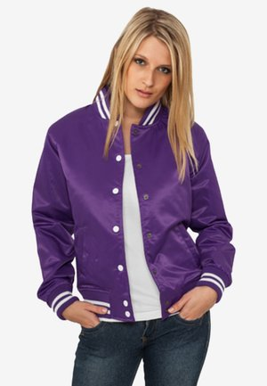 Blouson Bomber - purple