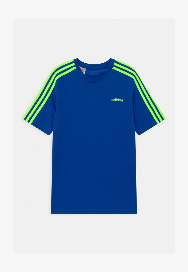 adidas Performance - UNISEX - Print T-shirt - royal blue/signal green