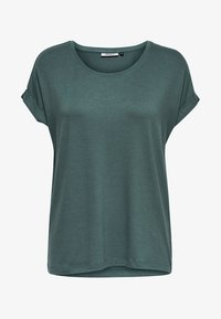 ONLY - ONLMOSTER O-NECK TOP - T-shirts - balsam green - 4