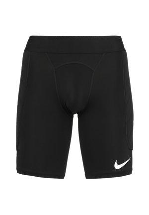Pantalón corto de deporte - black / white