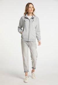 DreiMaster - Zip-up hoodie - hellgrau melange - 1
