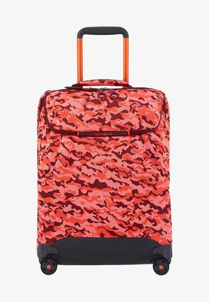 NEOKNIT - Wheeled suitcase - red