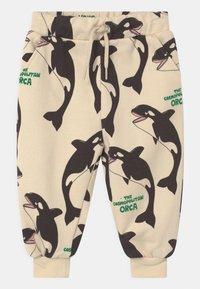 Mini Rodini - ORCA UNISEX - Trousers - offwhite - 0