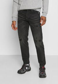 G-Star - ALUM RELAXED TAPERED - Džíny Relaxed Fit - black - 0