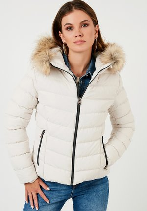 INFLATABLE  - Winter jacket - ecru