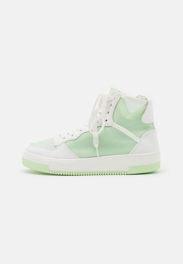 KAYLEE - High-top trainers - light green