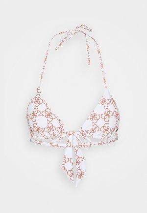 REMOVABLE PADDED - Bikiniöverdel - optic white