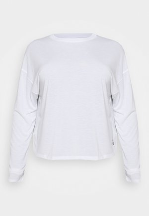 LONG SLEEVE - Camiseta de manga larga - white