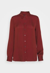 DILLON SOFT - Button-down blouse - mulled cranberry