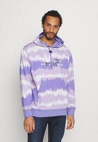 adidas Originals - HOODY UNISEX - Sweatshirt - light purple/multicolor - 0