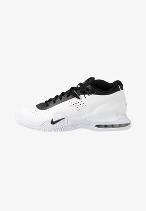 COURT TECH CHALLENGE - Multicourt tennis shoes - white/black/persian violet