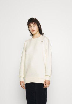 CITY STANDARD CREW - Sweatshirt - gardenia white