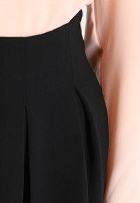 mint&berry - A-line skirt - black - 3