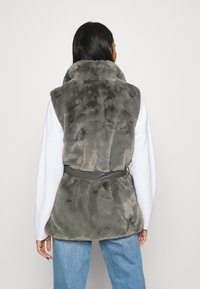 ONLY - ONLOLLIE WAISTCOAT - Waistcoat - charcoal gray - 2