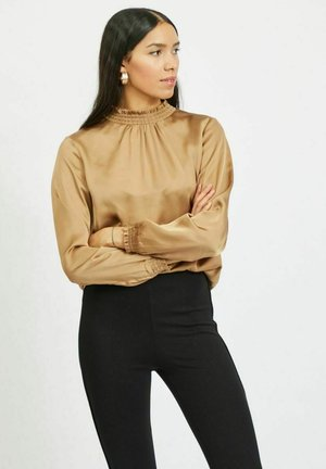 VISOFIE  - Blouse - dusty camel