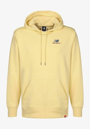 NB ESSENTIALS EMBROIDERED - Hoodie - yellow