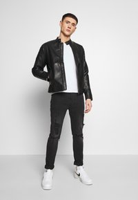 Redefined Rebel - RIVER JACKET - Veste en similicuir - black - 1
