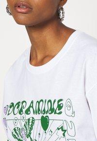 NEW girl ORDER - DOPAMINE TOP - Long sleeved top - white - 5