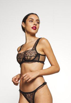 AUSTIN BRA - Underwired bra - black