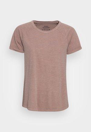 GREAT WOMAN - Camiseta estampada - rosewood