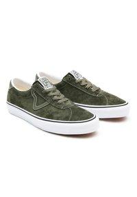 Vans - UA VANS SPORT - Sneakers - (pig suede) olive/true white - 2