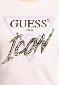Guess - Print T-shirt - pink - 2
