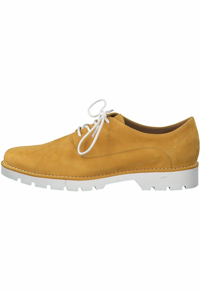JANA - Šněrovací boty - saffron