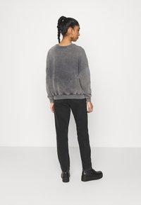 Even&Odd - Printed Oversized Sweatshirt - Sweatshirt - dark grey - 2
