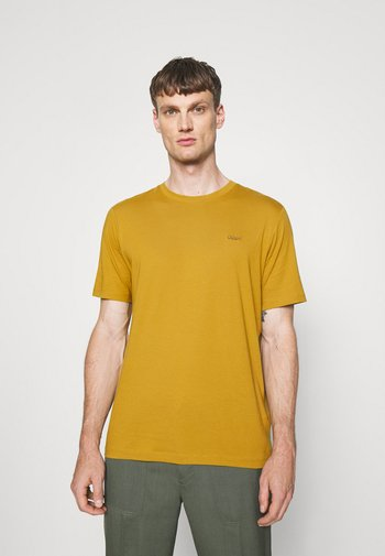 DERO - Basic T-shirt - yellow